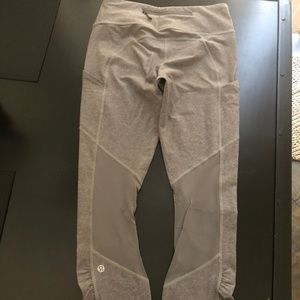 LULULEMON GRAY LEGGINGS